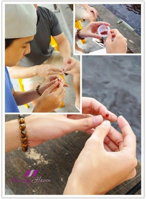 singapore fun recreational fishing prawning tips