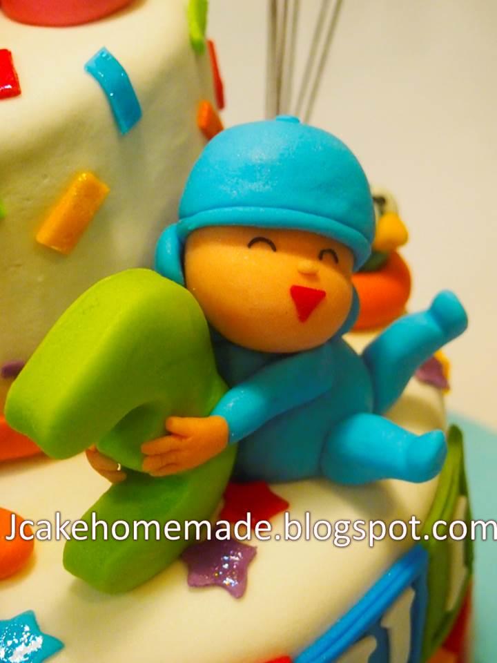 Birthday Cake Pocoyo