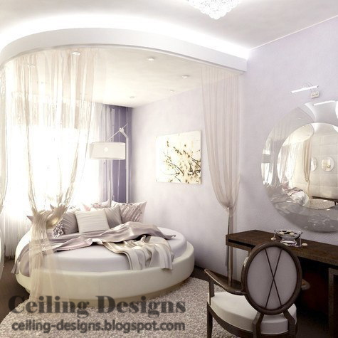 Home interior designs cheap august 2013 for Round bed interior design