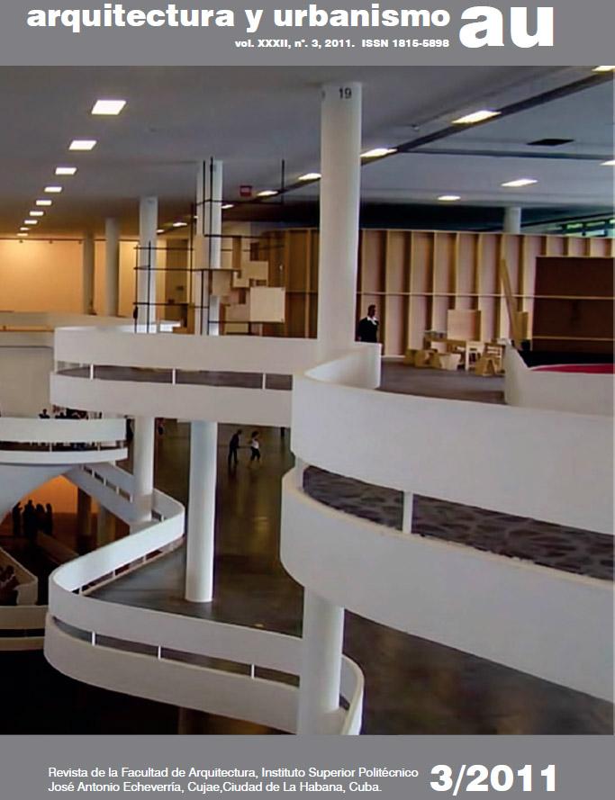 Revista Arquitectura Y Urbanismo 3 2011 Arquitectura Cuba