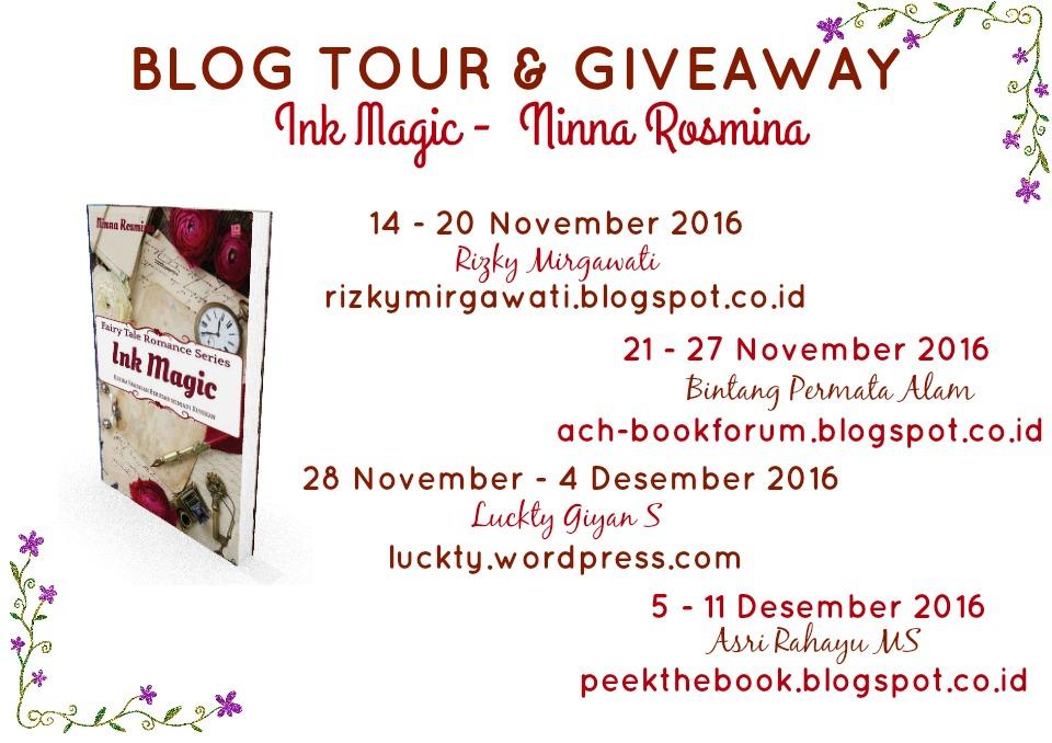 Blog Tour Ink Magic - Ninna Rosmina