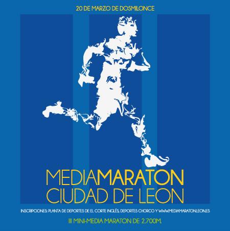 III Media Maratón Ciudad de León Cartel+media+maraton+leon+2011