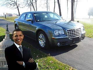 Barack Obama selling his old car on eBay for $1 million
