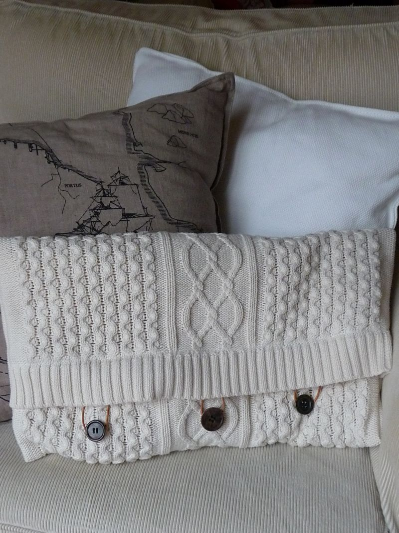 meine gr ne wiese diy gestricktes kissen strickh lle f r vase. Black Bedroom Furniture Sets. Home Design Ideas