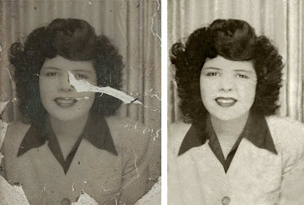 How to restore an old photo in lightroom