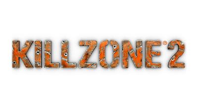 Killzone 2 Metallic Text Logo HD Desktop Wallpaper