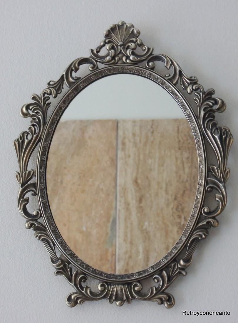 Rastro con encanto espejo de bronce de pared for Espejo pared precio