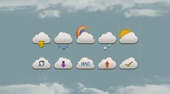 Mini Clouds Set PSD