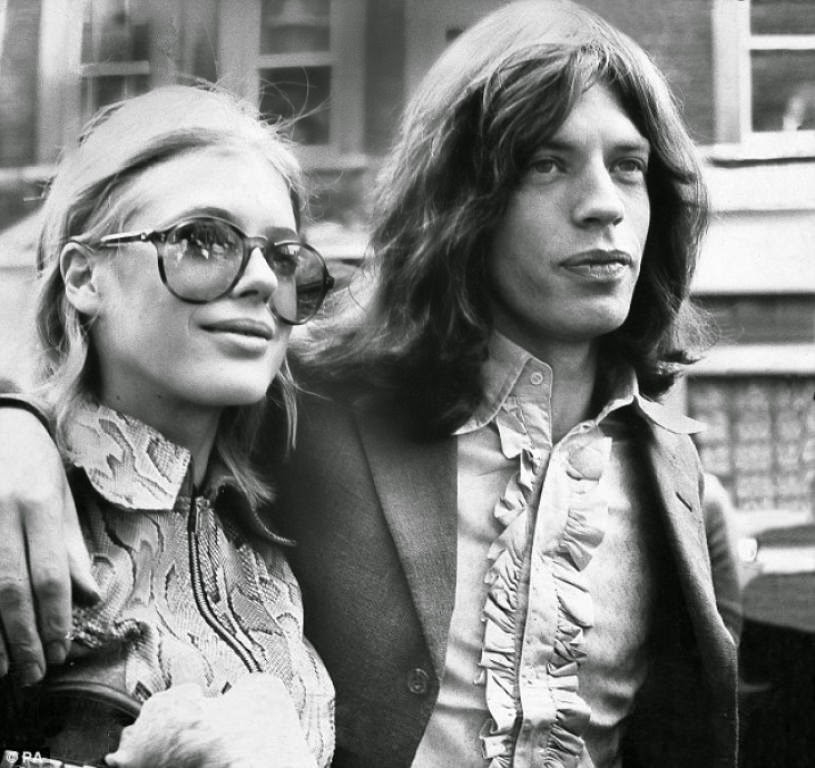 Mick Jagger couple