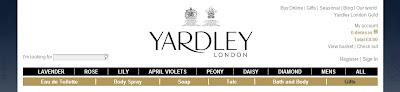 Yardley London, Daisy bath product, Daisy body cream