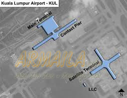 Bandara Kuala Lumpur Peta