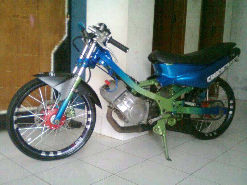 Motor Ninja 2 Tak Drag Modifikasi Motor Satria 2 Tak