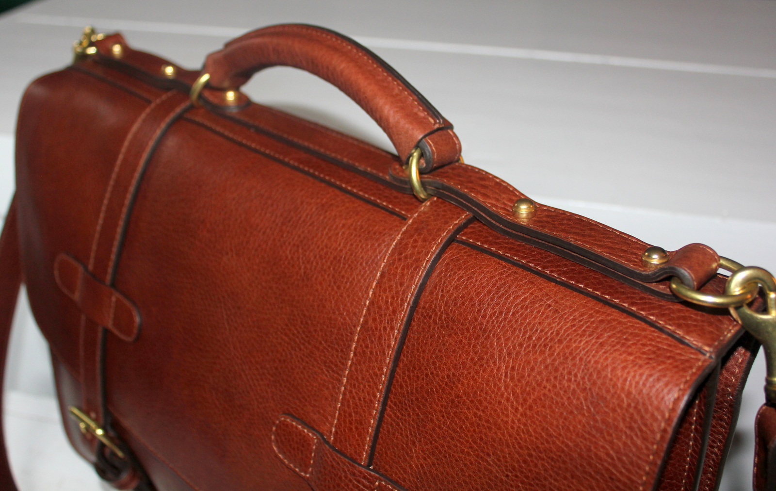 Salt Water New England The Lotuff Mens Leather Briefcases And Bifold Wallet