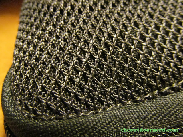 Maxpedition EDC Pocket Organizer - Closeup of Netting On Front