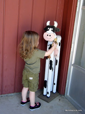Sasha's Wooden Cow Hugs - Born at Home Toys