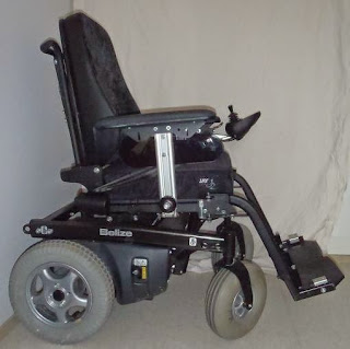 Electric-powered wheelchair Belize1