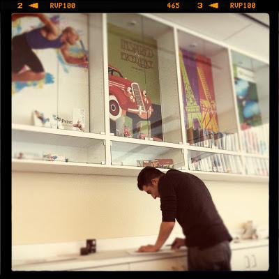 GotPrint designer designing at a worktable