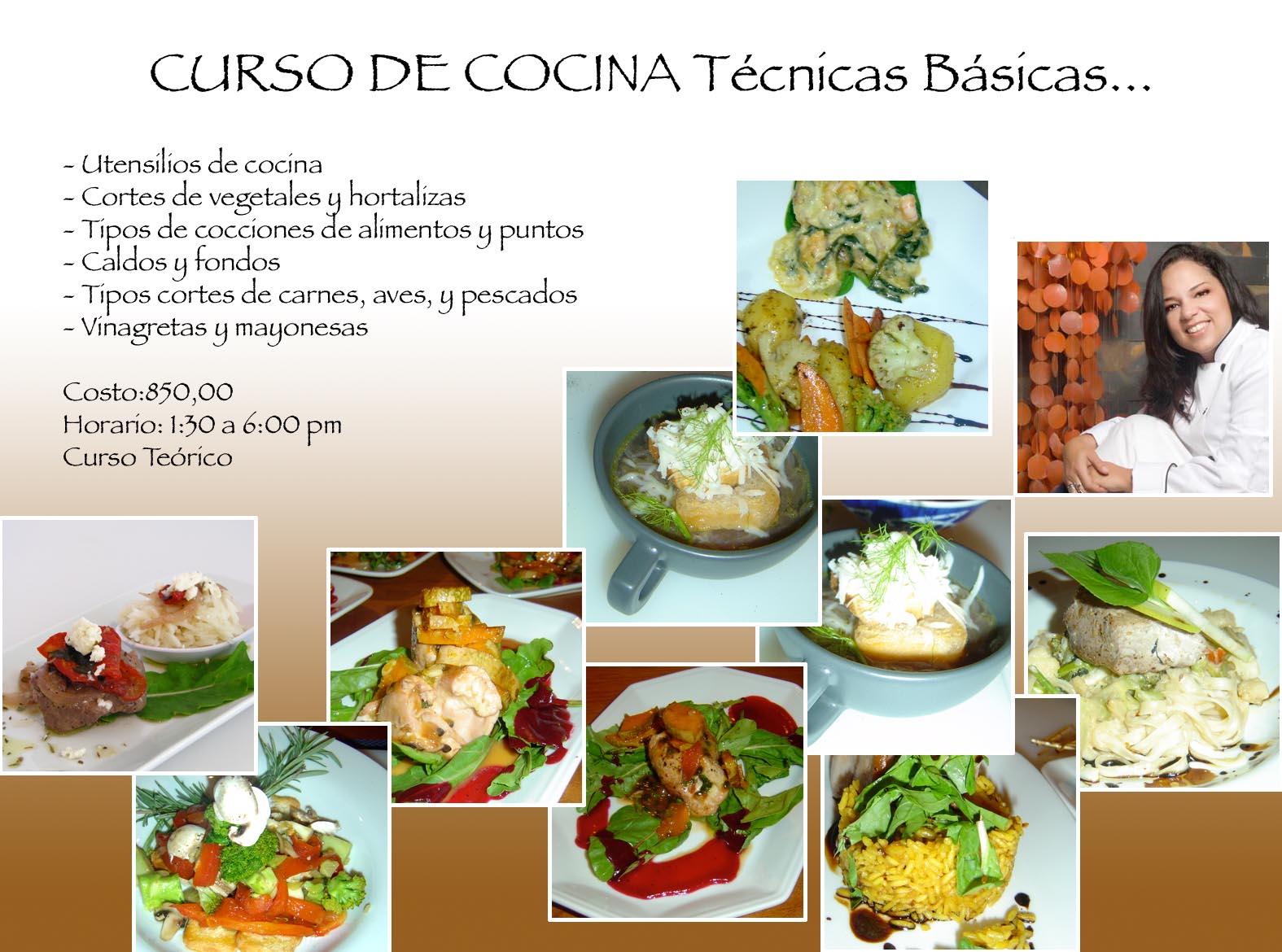 Postresandcakesbylu en el mes de noviembre cursos - Tecnicas basicas de cocina ...
