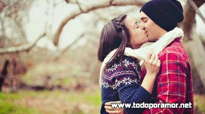 ¿Un beso es algo qué enamora?