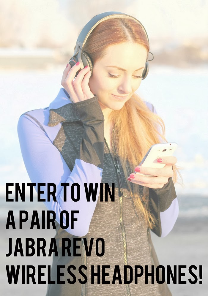 Giveaway: Win a pair of Jabra Revo Wireless Headphones!!!
