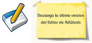 Nueva versión AdWords Editor
