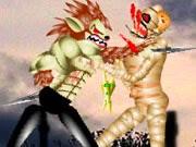 Quái vật đánh nhau, game hành động đánh nhau cực hay tại GameVui.biz
