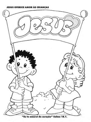 Vistoso Jesus Me Ama Para Colorear Imprimible Inspiración - Páginas ...
