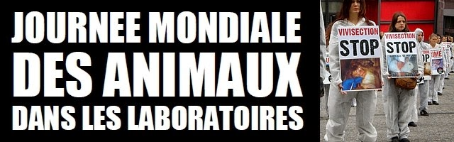 Journée Mondiale des Animaux de Laboratoires