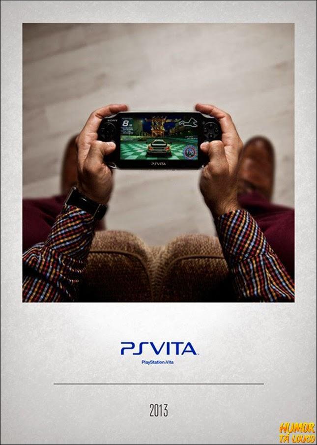 A evolução dos controles de vídeo-game