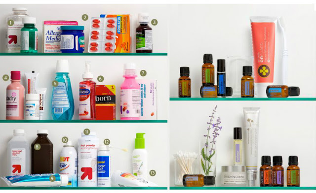 Family Wellness At Home: Replace Your Medicine Cabinet with ...