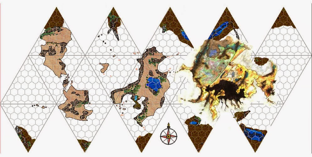 Athas World Map.Forgotten Runes From The Depths Of The Web To The Burning Sands Of