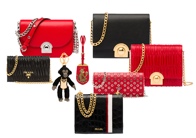 prada capsule coleccion chinesse new year, monkey year