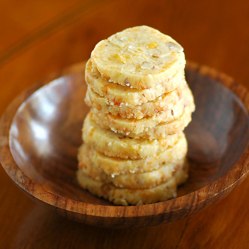 Savoring Time in the Kitchen: Cheese and Walnut Crackers~