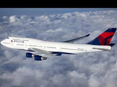 Boeing 747 da empresa Delta Airlines.