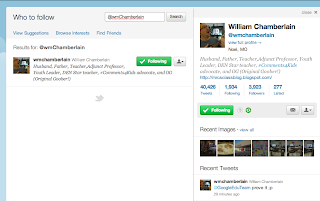 Twitter Profile Page