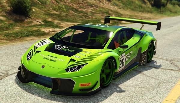 MOD Lamborghini Huracan GT3 (Addon) (Tunable)