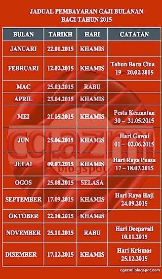 Salary Schedule 2015
