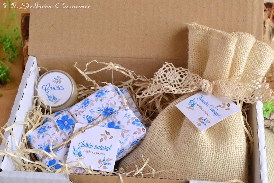 regalos para navidad cajas con jabones naturales
