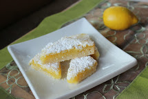 Lemon Bars with Frosting