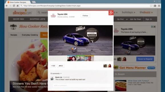 Google+ Reklam almaya başlıyor