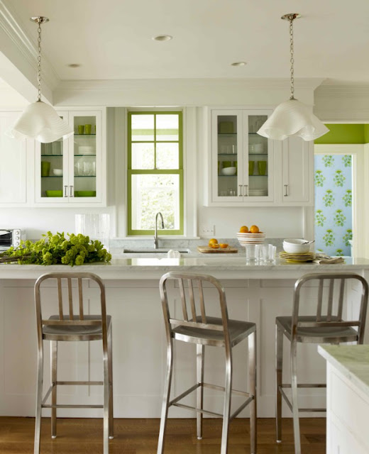 Vered Rosen Design: Not A Cookie Cutter White Kitchen