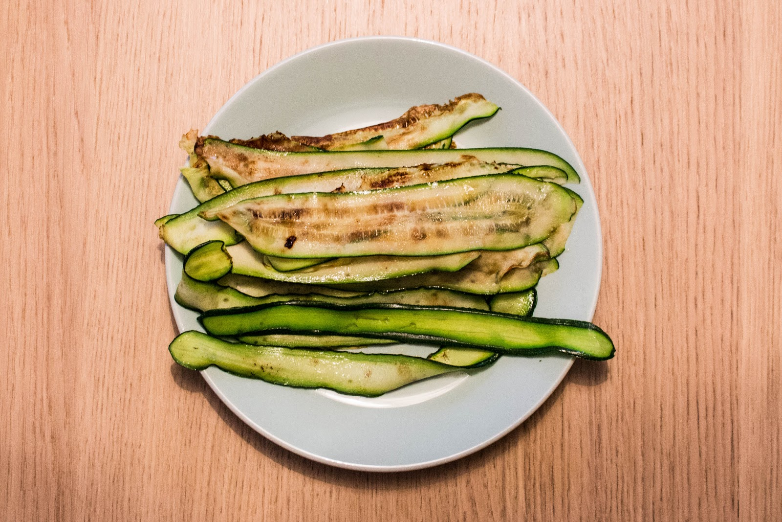 Cooked zucchini slices | Svelte Salivations