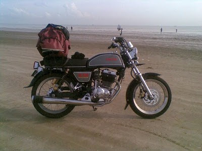Honda CB Touring Modif