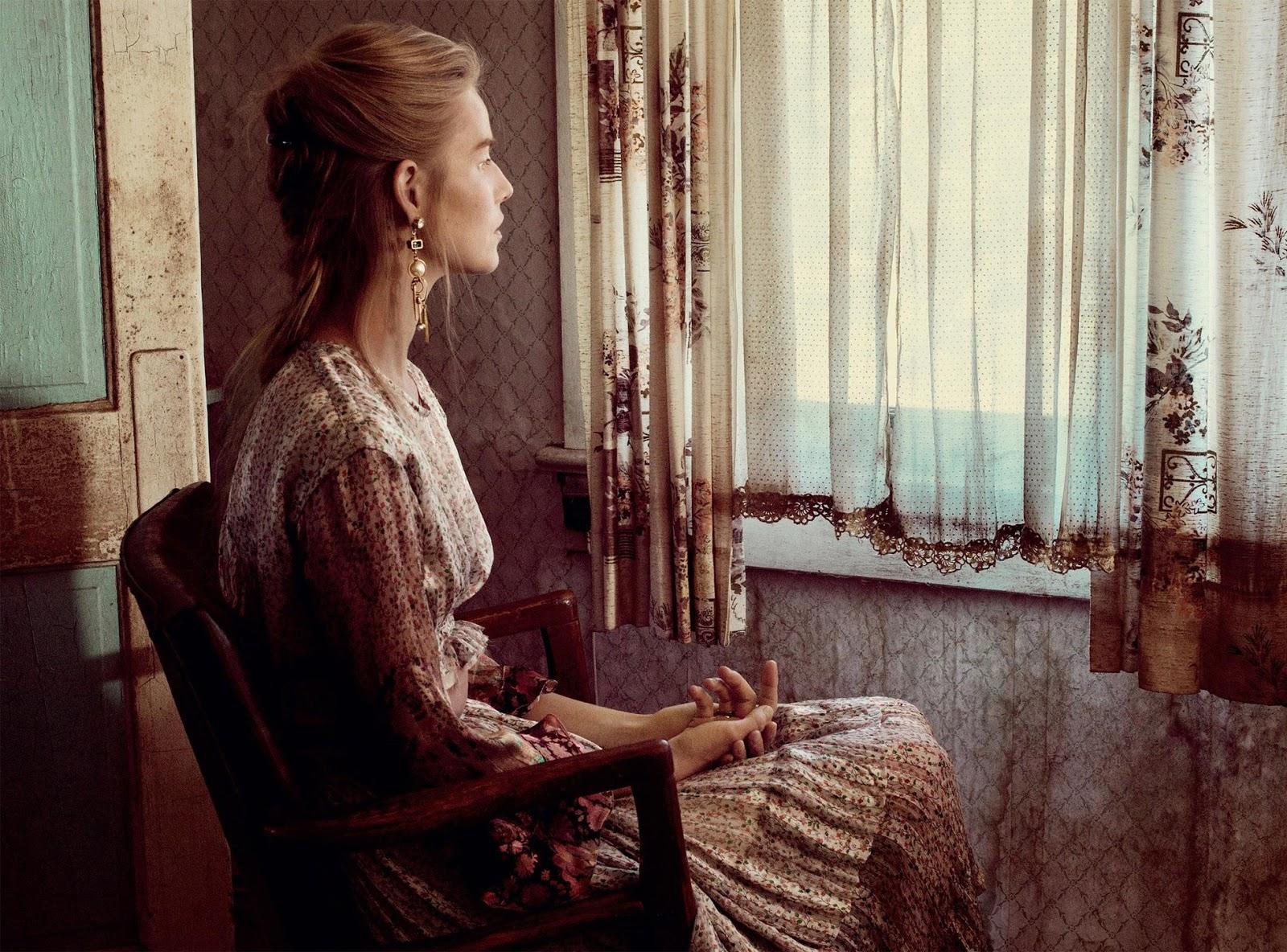 Suvi Koponen VOGUE Russia #2 2016 fashion celebrity monthly