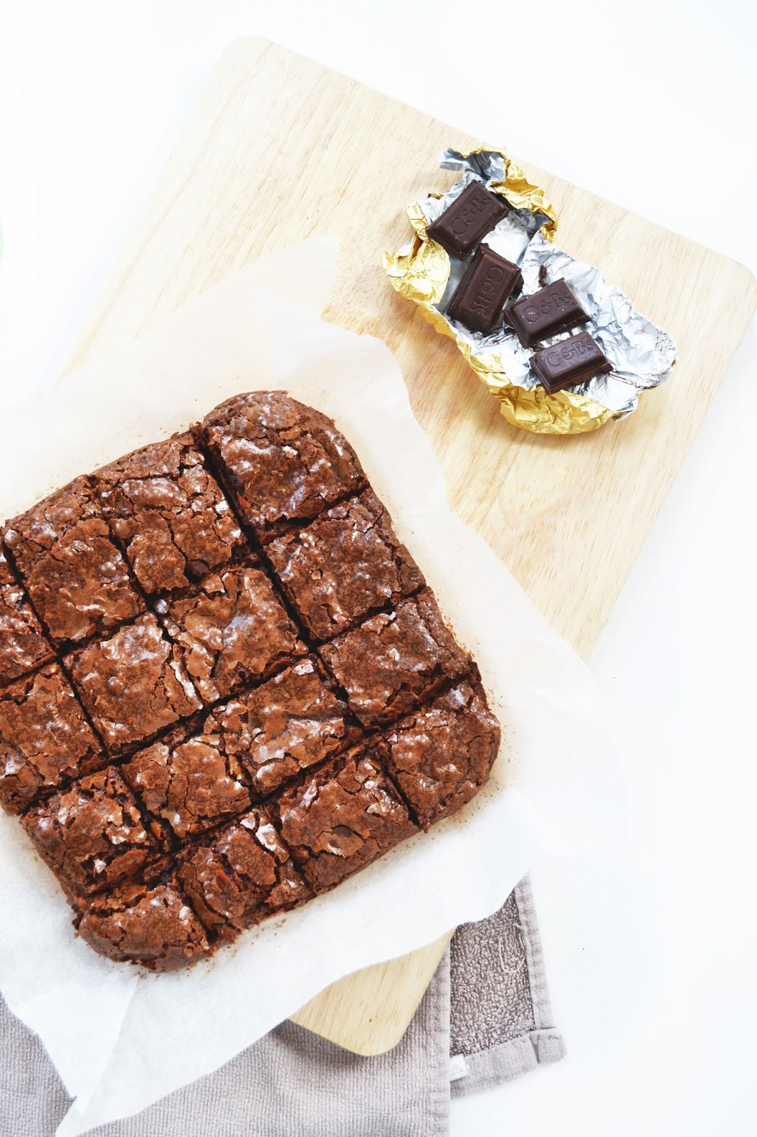 recipe for chocolate brownies