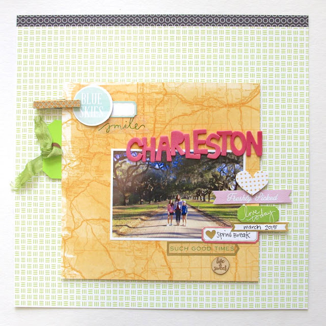 #layers #scrapbooking #layout #clusters