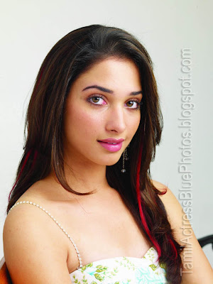 tamil actress photos without bra on Tamil Actress Tamannah Blue Dress - Ajilbab.Com Portal