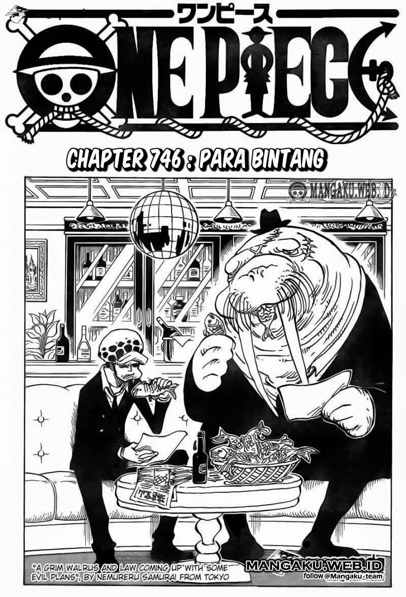 03 One Piece 746   Para Bintang