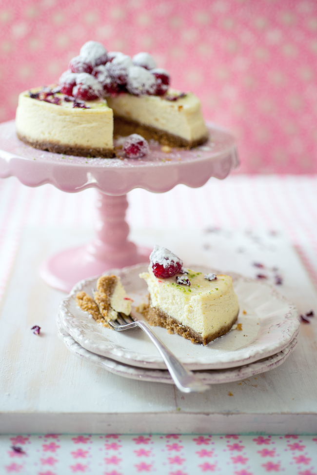 Photographing Cheesecake on William Reavell's Food Photography Course