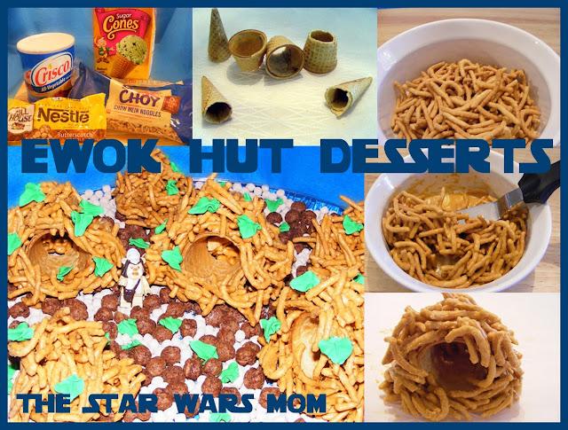 Star Wars Ewok Hut Dessert Recipe with Chow Mein Noodles